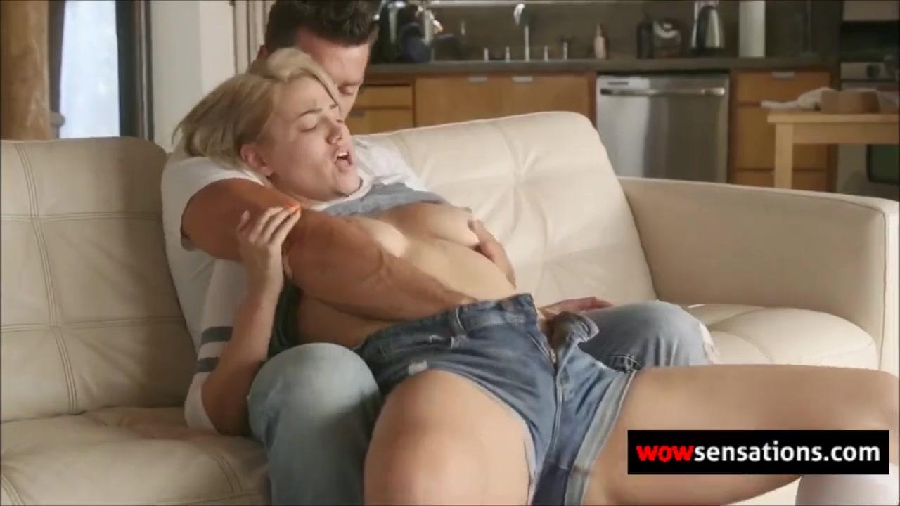 Секс С Красоткой Довел До Оргазма